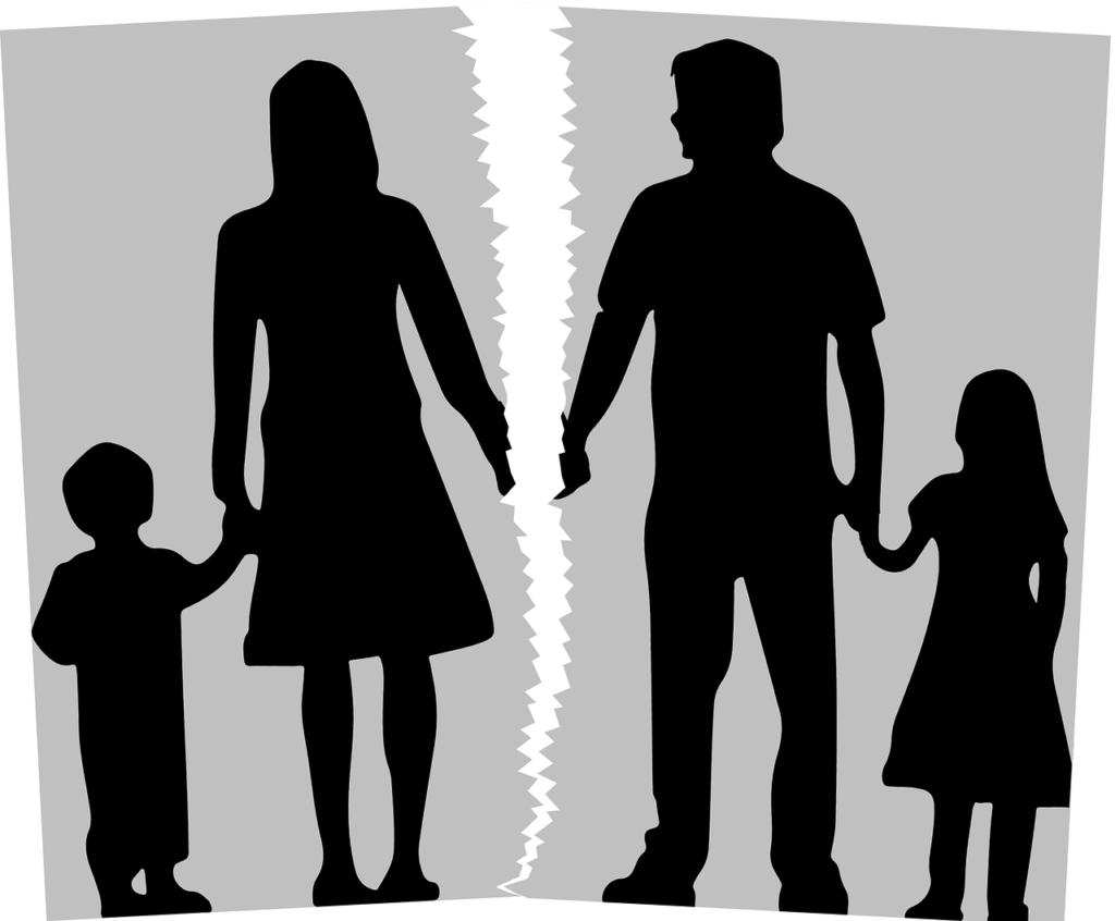 זוג עם ילדים