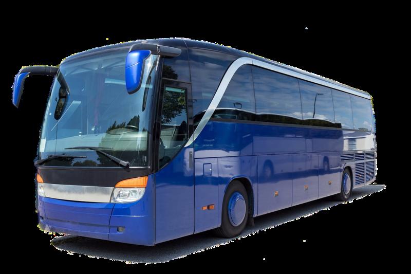 אוטובוס כחול גדול