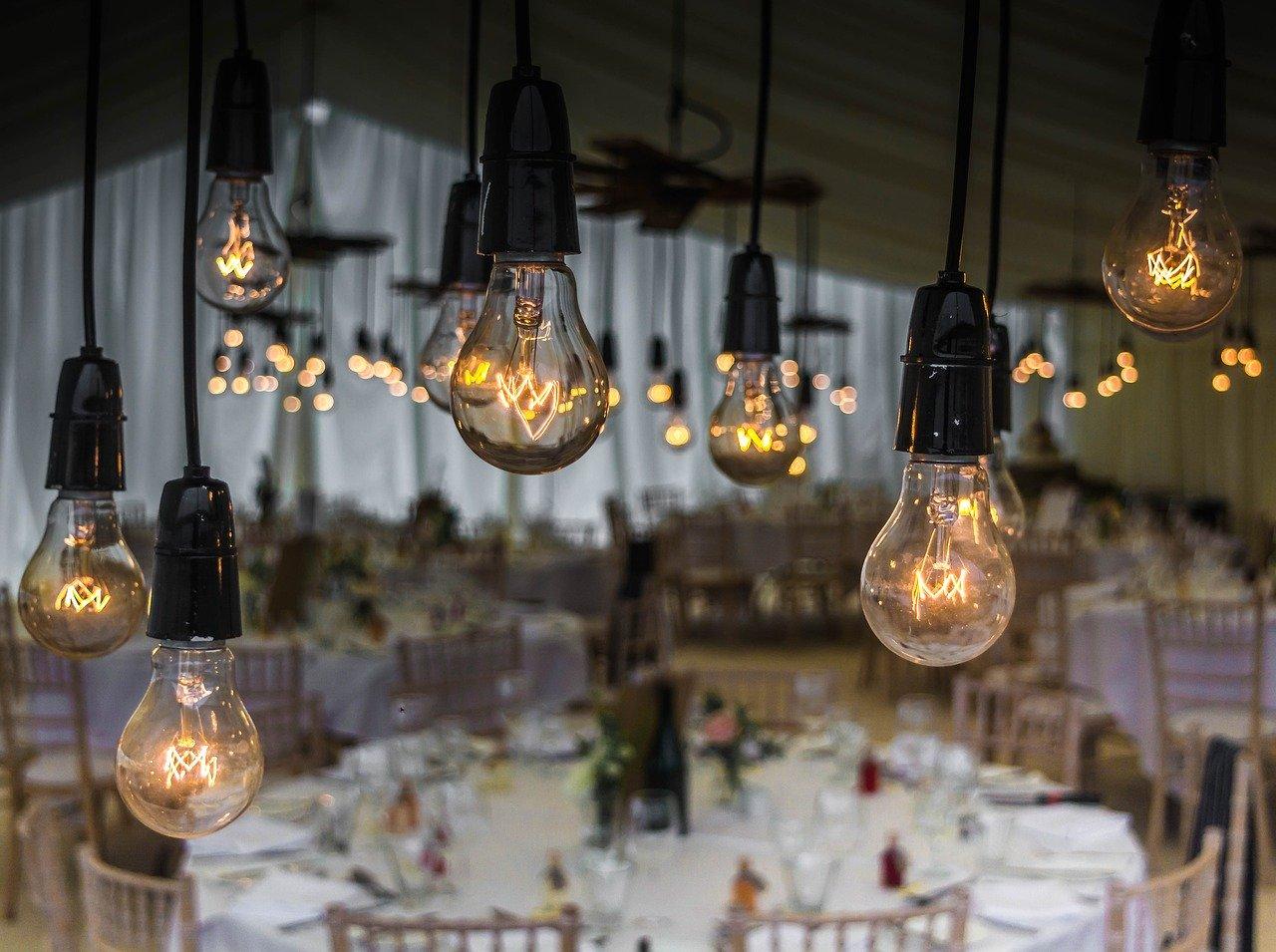 תאורה יפה באירוע