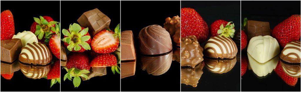 תותים ושוקולדים