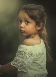 ילדה קטנה