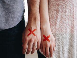 גירושין של בני זוג